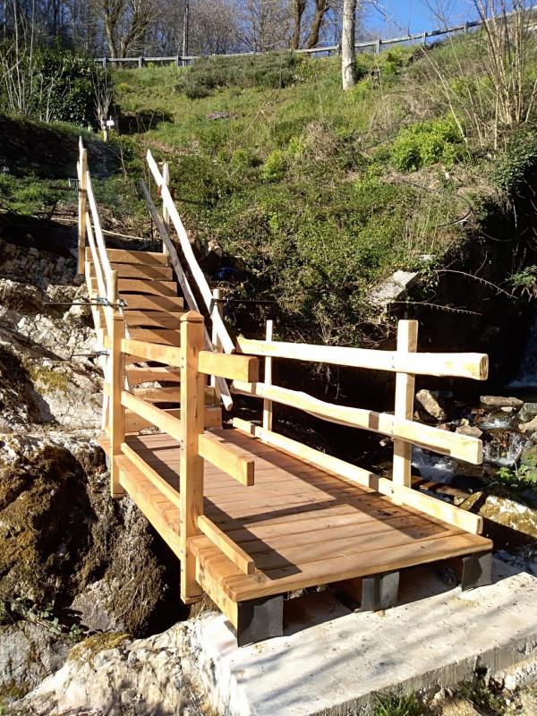 2019 03 28 phase 2 pose rambardes escalier v1