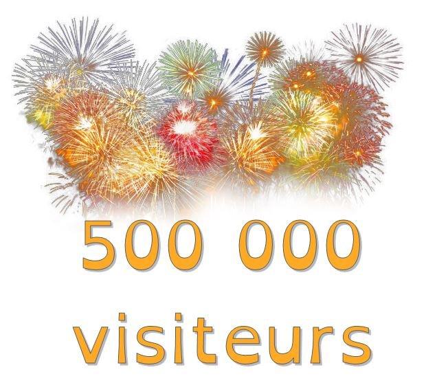500000 visiteurs