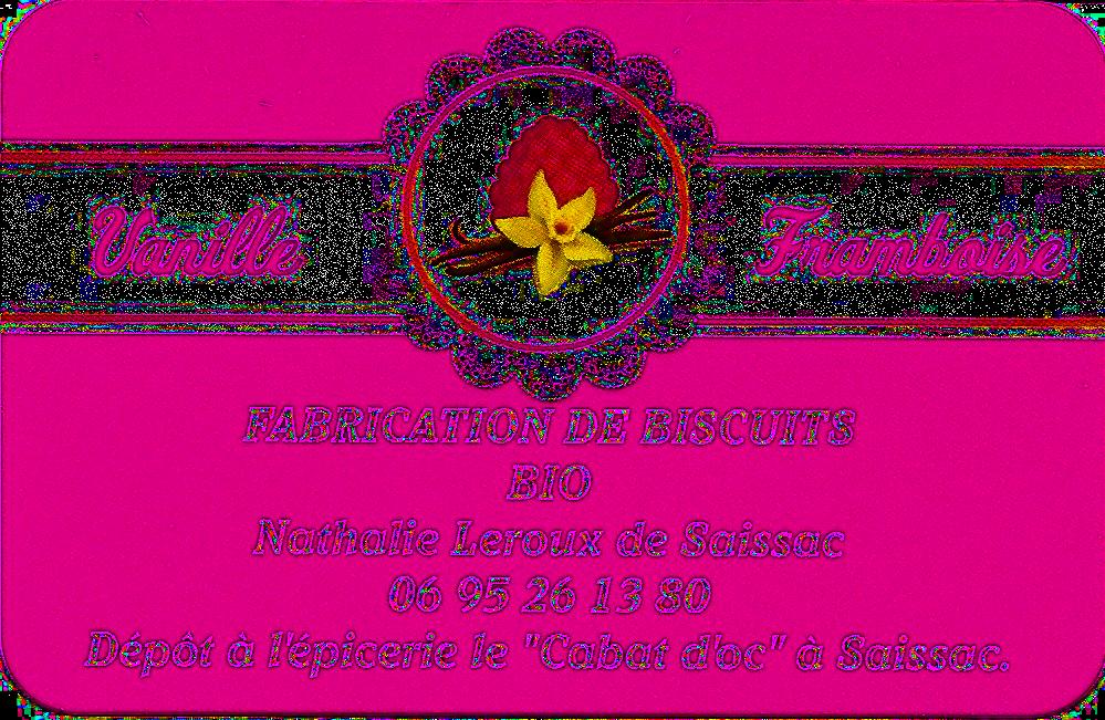 Vanille - Framboise