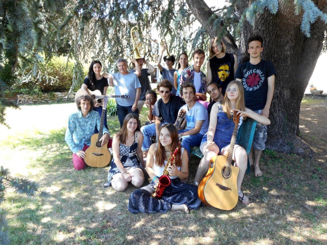 Groupe jeunes auterus compositeurs 2018