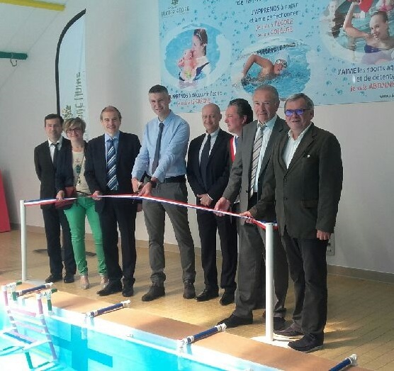 Inauguration piscine montagne noire
