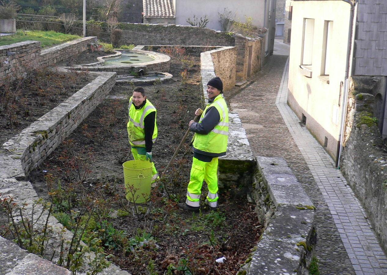 Mairie for Espace vert interim