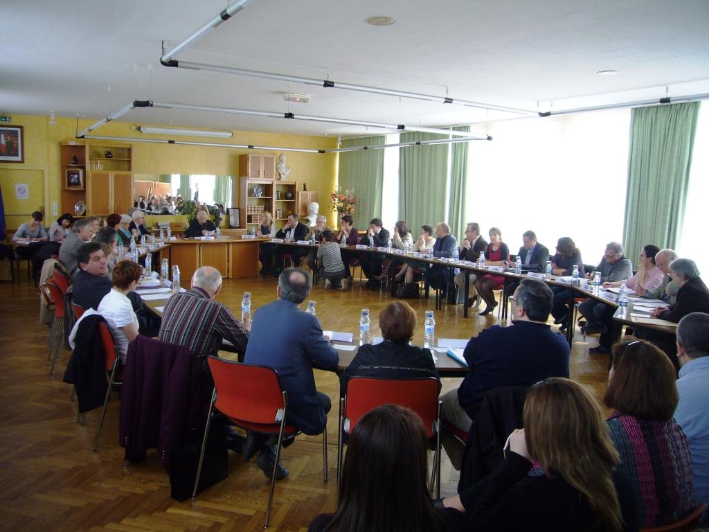Reunion conseil municipal 2