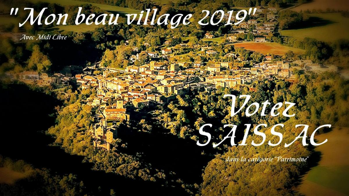 Saissac village