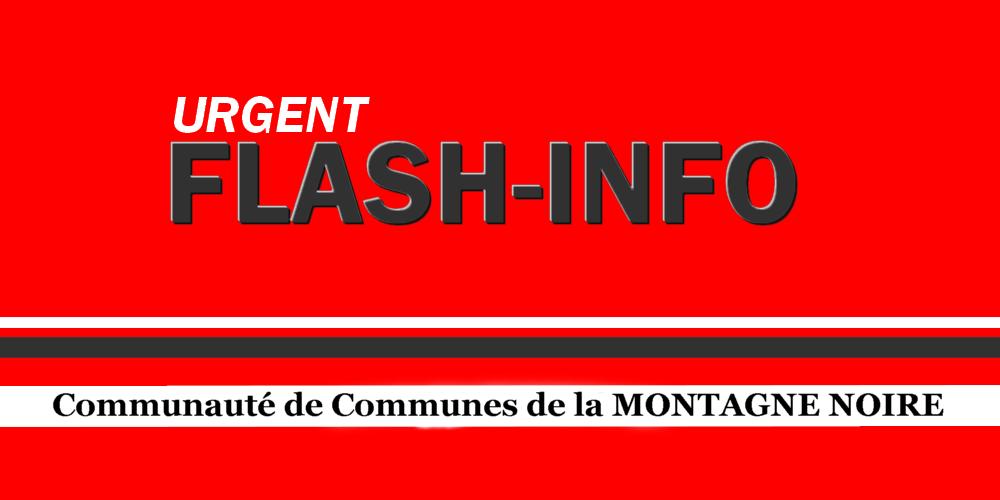 Urgent flash info